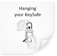 Hanging the Keysafe